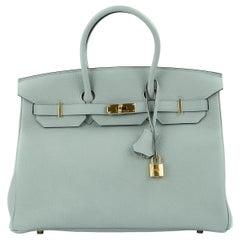 Hermes Birkin 30 Bag Gris Mouette Togo GHW