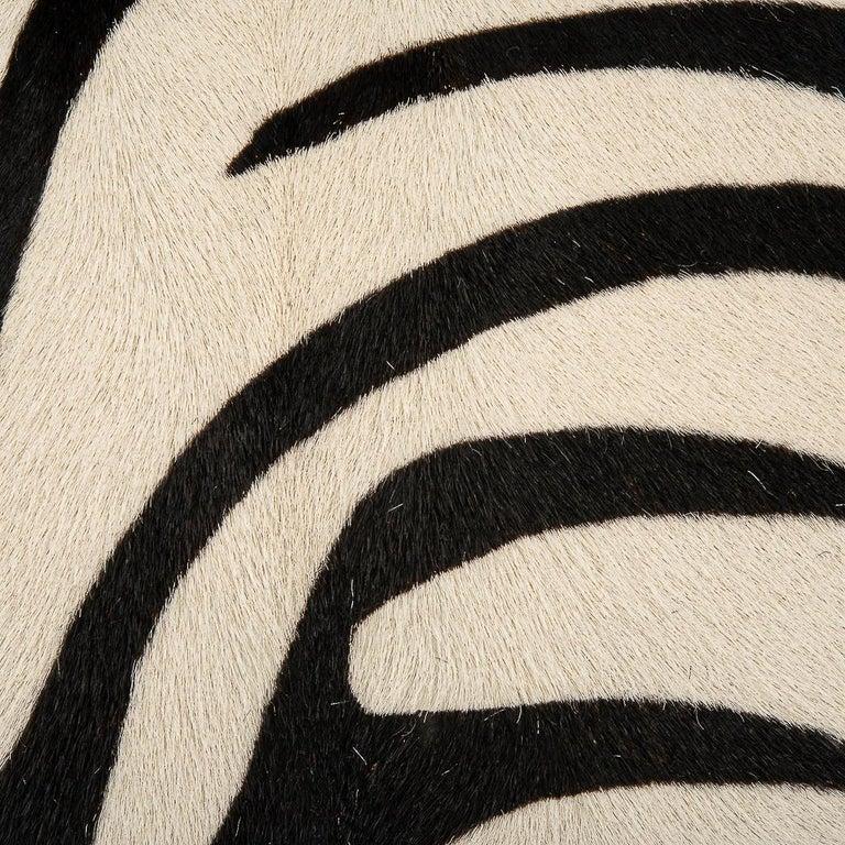 Hermes Birkin 30 Bag Vintage Zebra Print Pony Limited Edition Very Rare 4
