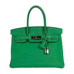 Hermès Birkin 30 Bambou Togo PHW