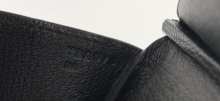 Hermes Birkin 30 Black Noir Togo Palladium Hardware NEW 3