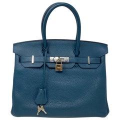 Hermes Birkin 30 Blue