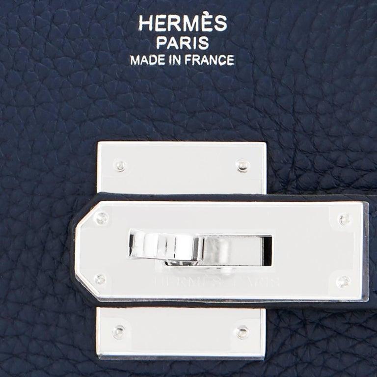 Hermes Birkin 30 Blue Nuit