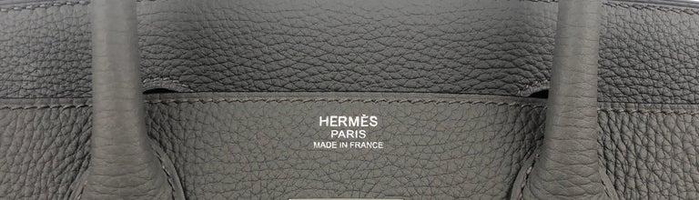 Hermes Birkin 30 Etain Gray Grey Togo Palladium Hardware NEW 2
