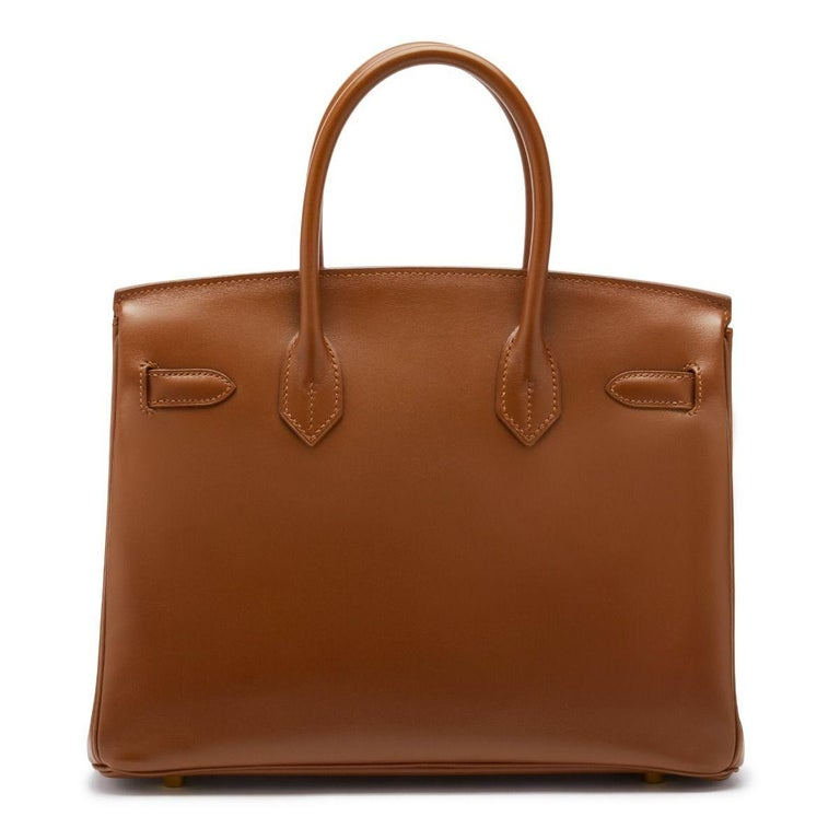 Hermès Birkin 30 Fauve G Stamp In Excellent Condition For Sale In London, GB