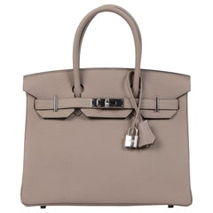 Hermès Birkin 30 Gris Asphalte PHW