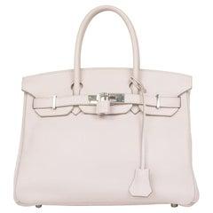 Hermès, Birkin 30 in pink leather