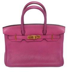 Hermes Birkin 30 Ladies Bag