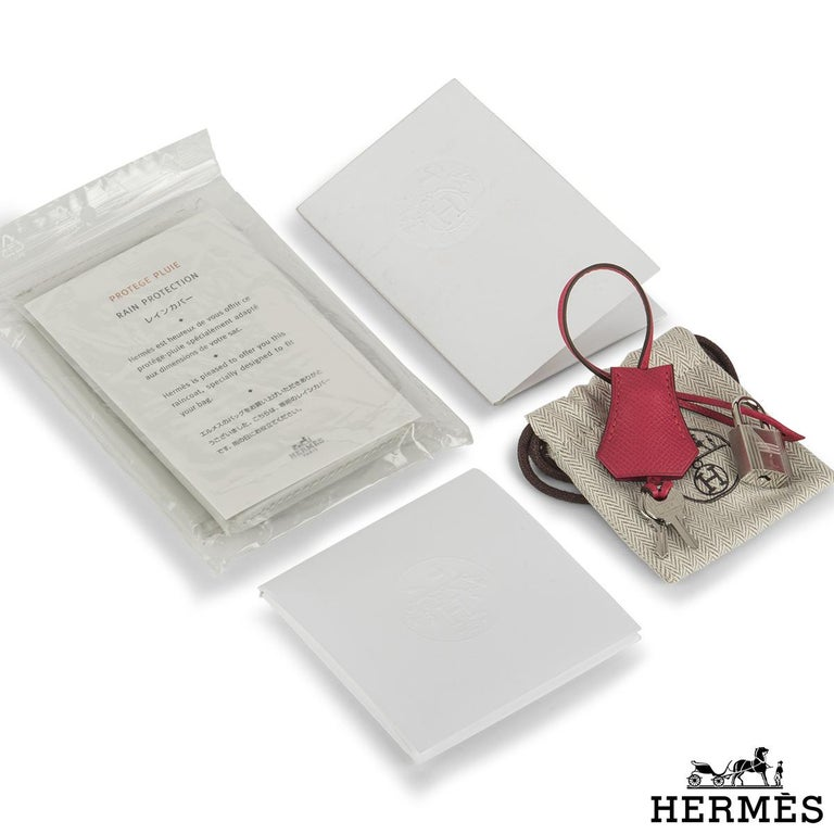 Hermès Birkin 30 Rose Extreme Epsom PHW  For Sale 3