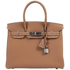 Hermès Birkin 30 Togo Gold PHW