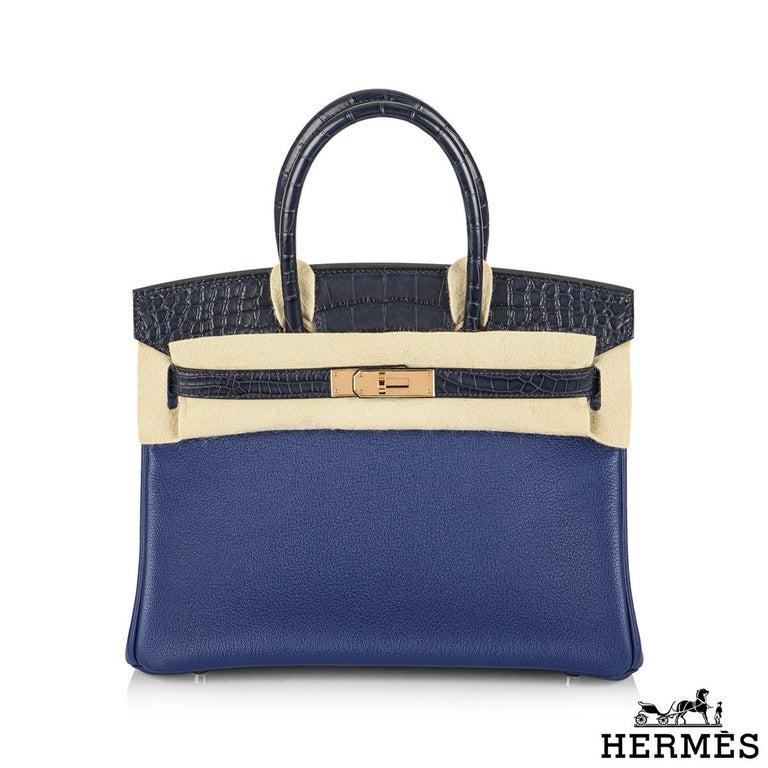 An unworn limited edition Hermès Touch Birkin 30 cm bag. The exterior of this Birkin