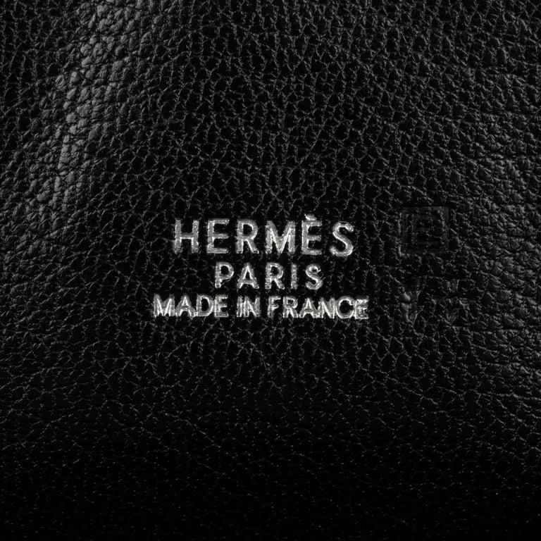 Hermès Birkin 30cm Dalmatian Buffalo Leather Palladium Hardware In Good Condition For Sale In Sydney, New South Wales