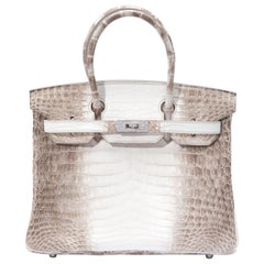 Hermes Birkin 30cm Himalayan with Diamond hardware