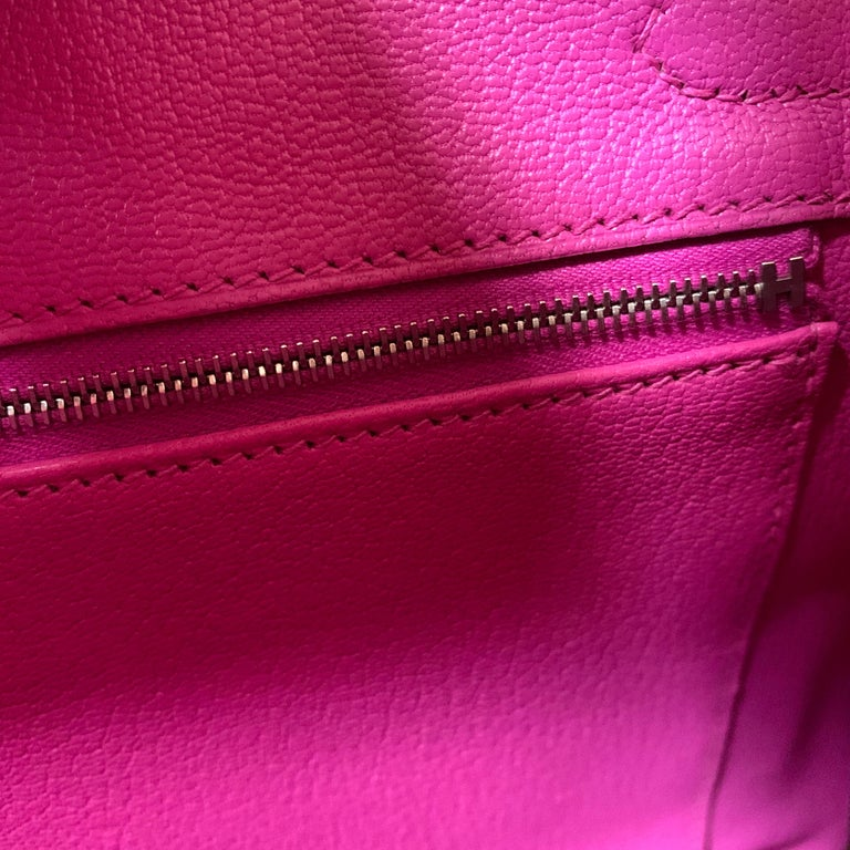 Pink Hermes Birkin 30cm Magnolia Togo Palladium Bag For Sale