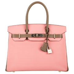 Hermès Birkin 30cm Special Order Chevre Leather Brushed Palladium Hardware