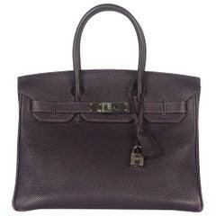 Hermès Birkin 30cm Togo Palladium H/W Bag