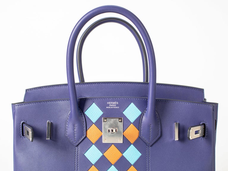Limited edition new unworn Hermes Birkin 30cm
