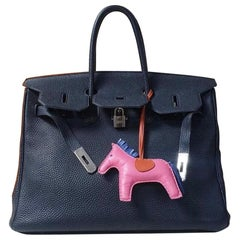 Hermès Birkin 35 Black Leather Handbag