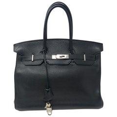 Hermes Birkin 35 Black Palladium Hardware