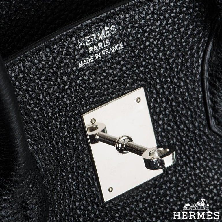 Women's Hermès Birkin 35 Black Togo PHW For Sale