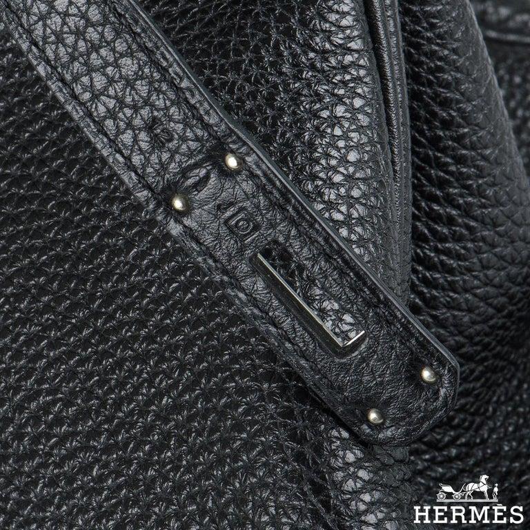 Hermès Birkin 35 Black Togo PHW For Sale 1