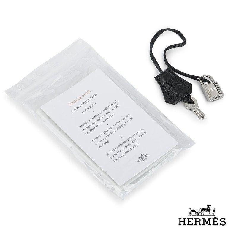 Hermès Birkin 35 Black Togo PHW For Sale 2