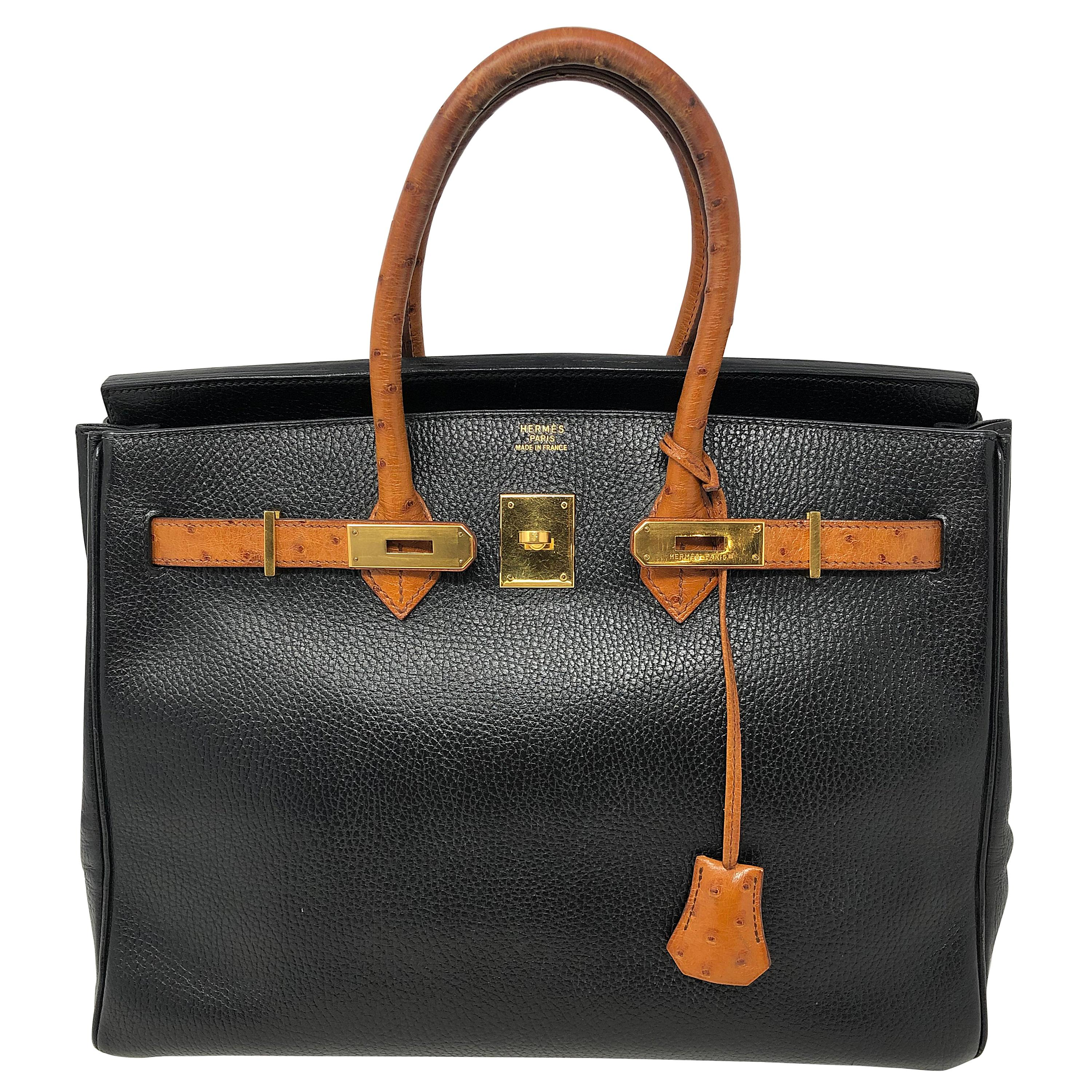 Hermes Birkin Ostrich Bags - 21 For Sale on 1stdibs e0c7ebcb6ce2a