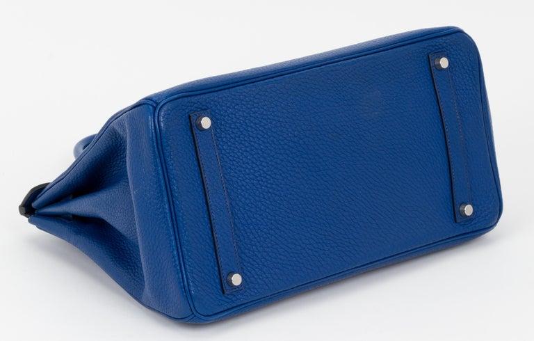 Hermes Birkin 35 Blue De France Togo 1
