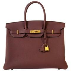 Hermès Birkin 35 Bordeaux Togo GHW