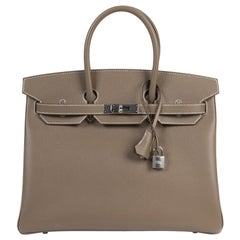 Hermès Birkin 35 Etoupe Epsom PHW