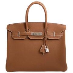 Hermès Birkin 35 Gold Togo PHW