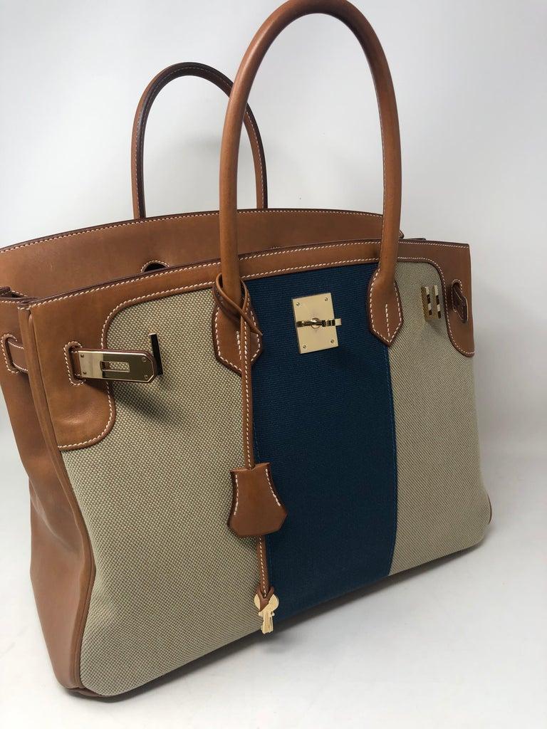 Hermes Birkin 35 Limited Edition  For Sale 8