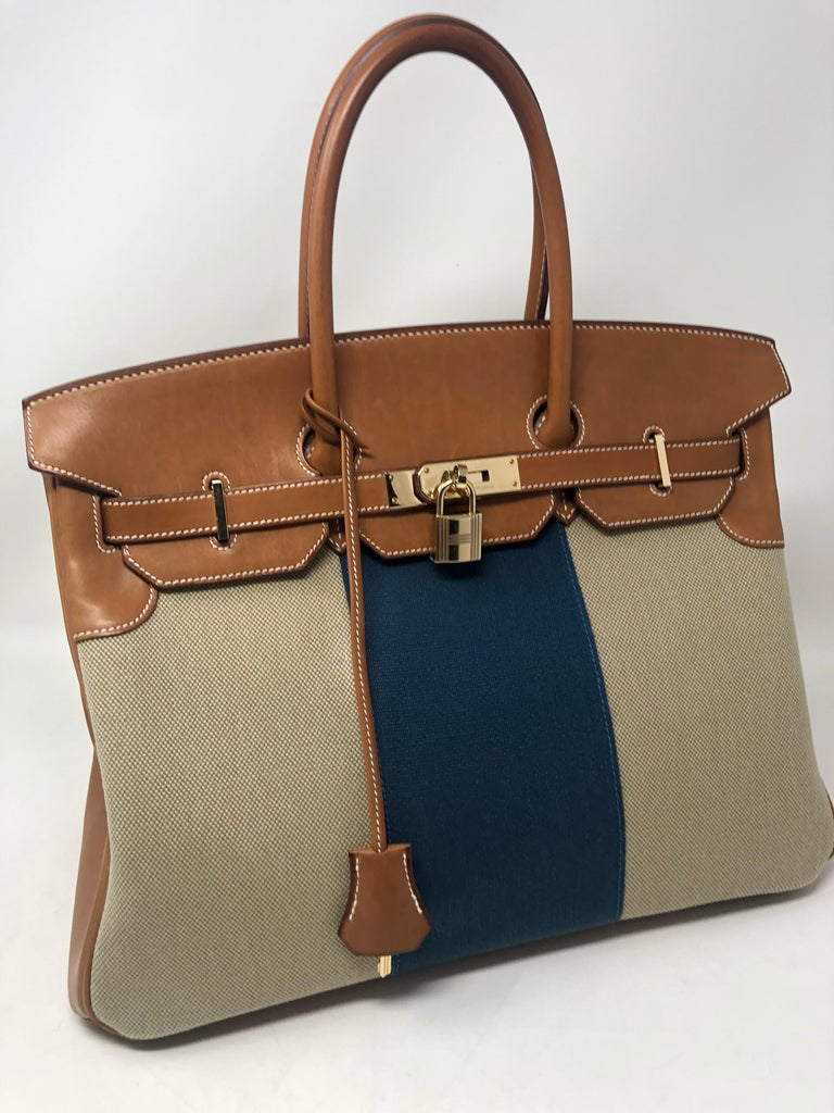 Hermes Birkin 35 Limited Edition  In Good Condition For Sale In Athens, GA