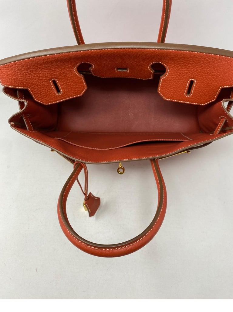 Hermes Birkin 35 Sanguine Bag For Sale 5