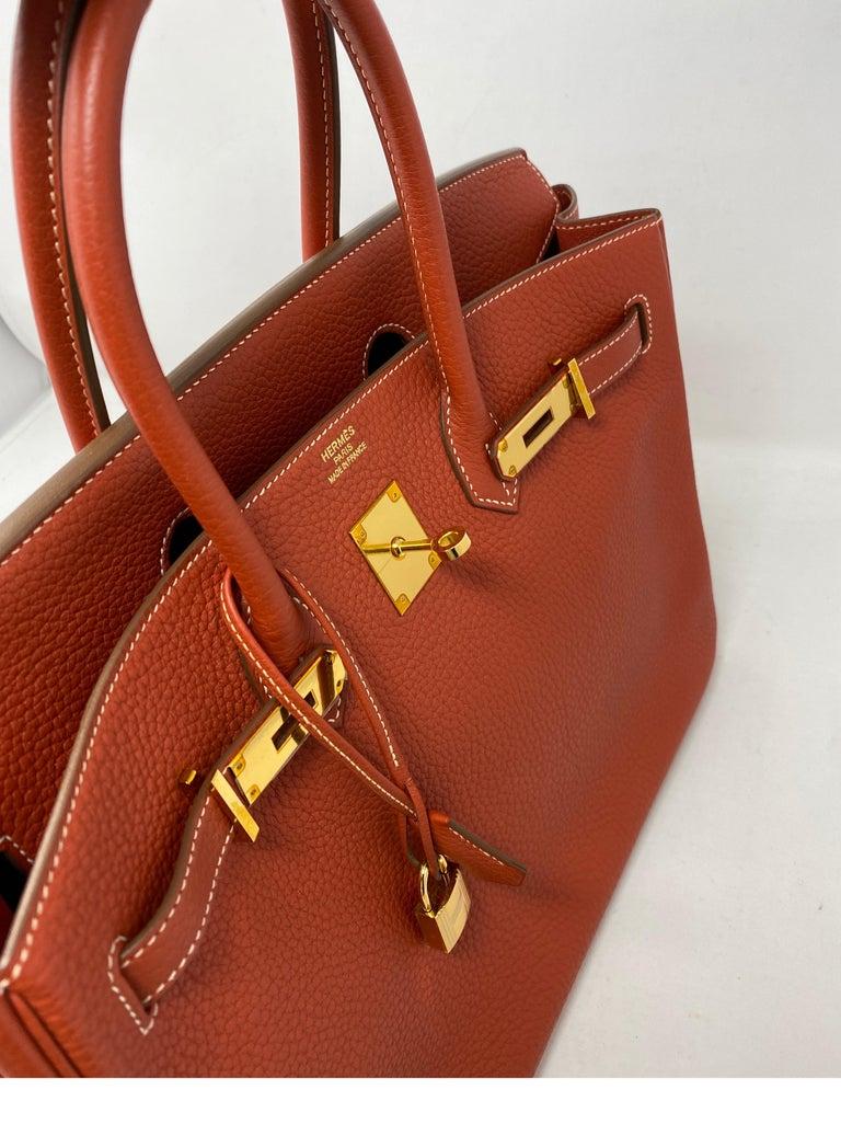 Hermes Birkin 35 Sanguine Bag For Sale 6