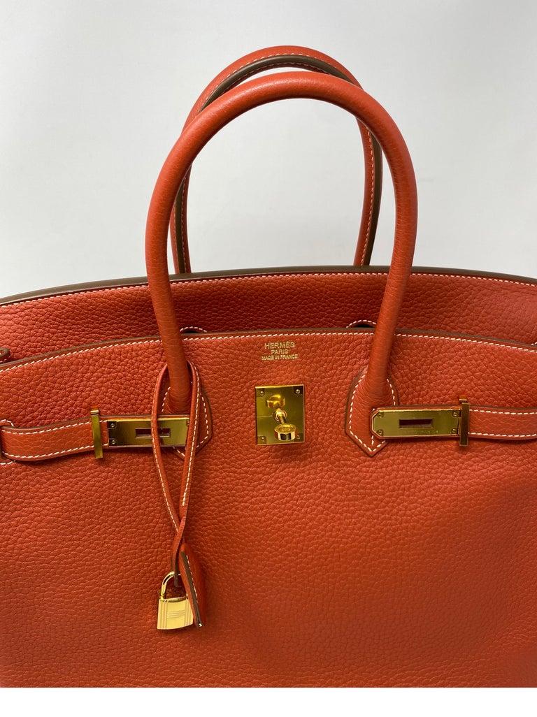 Hermes Birkin 35 Sanguine Bag For Sale 7