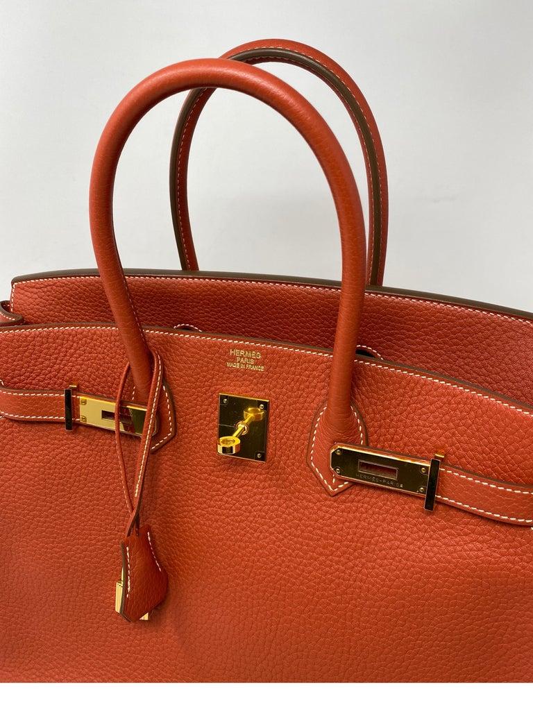 Hermes Birkin 35 Sanguine Bag For Sale 8
