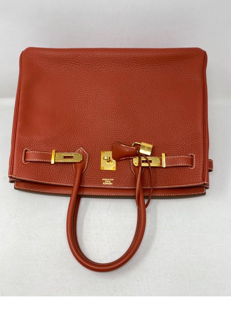 Hermes Birkin 35 Sanguine Bag For Sale 9