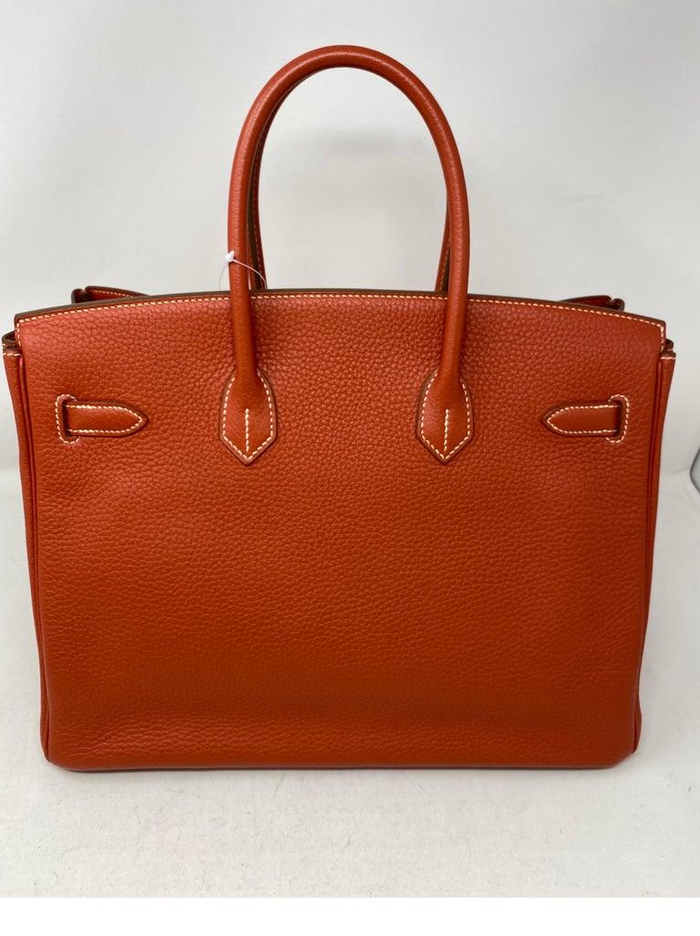 Hermes Birkin 35 Sanguine Bag For Sale 10