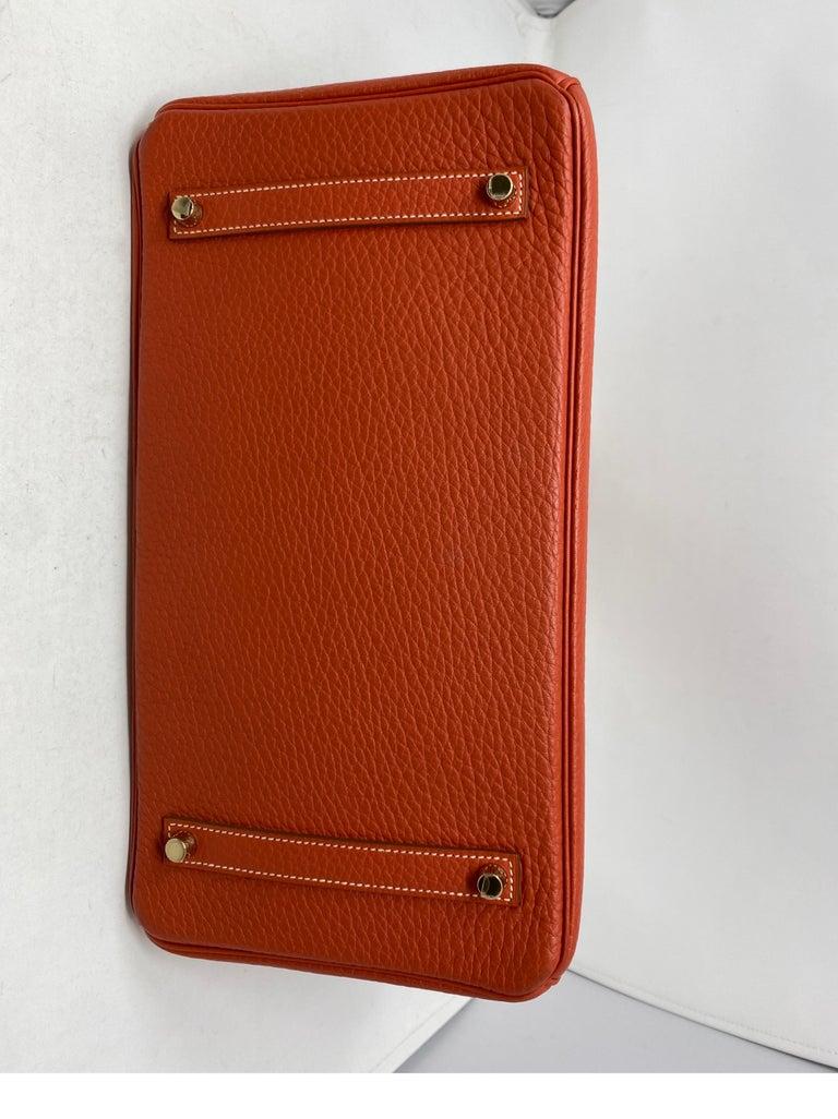 Hermes Birkin 35 Sanguine Bag For Sale 11