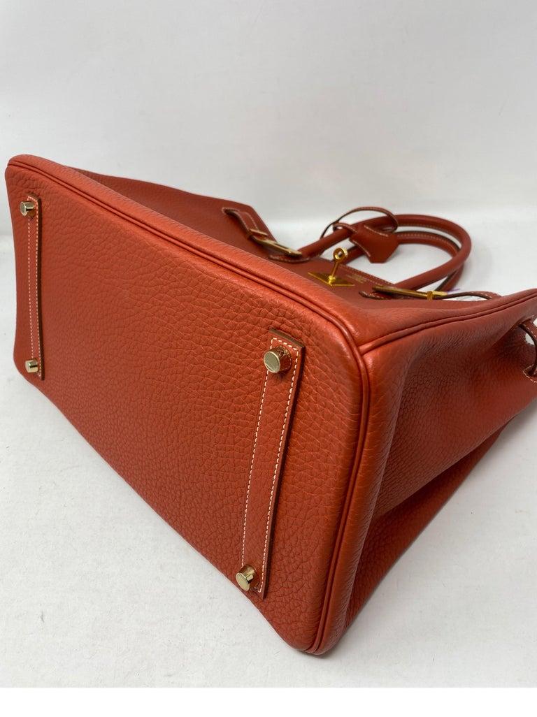Hermes Birkin 35 Sanguine Bag For Sale 12