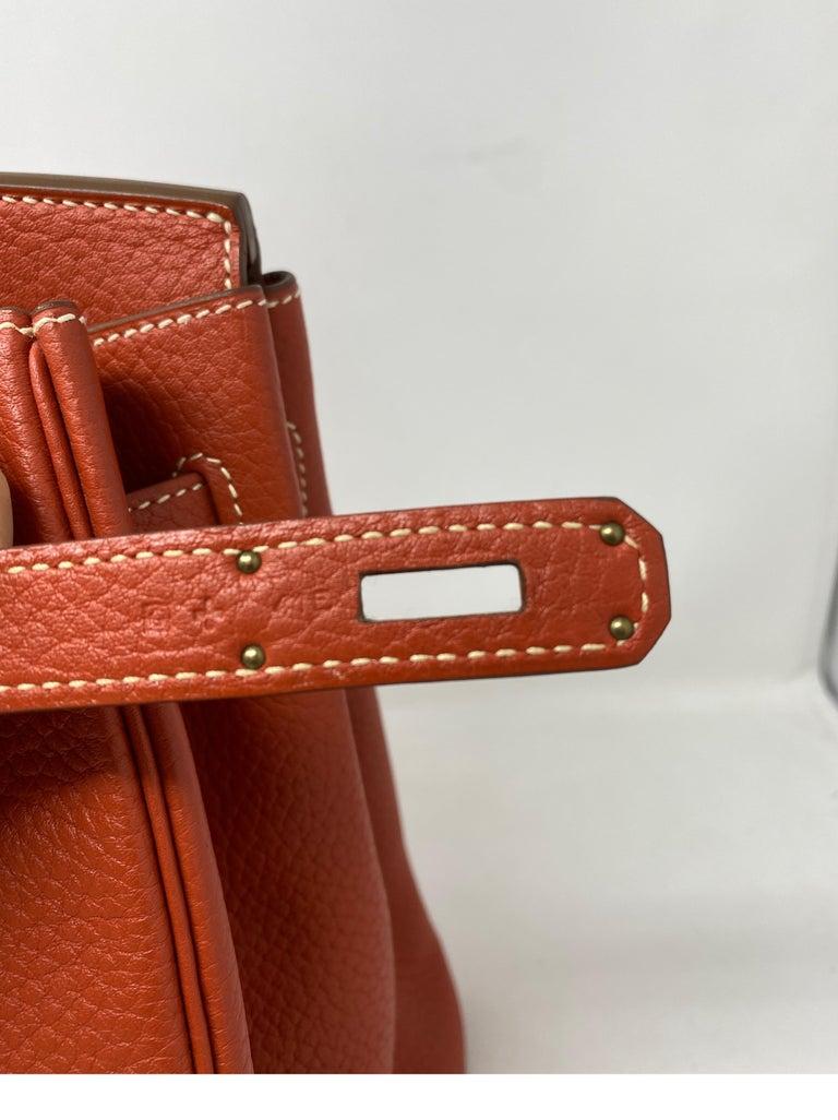 Hermes Birkin 35 Sanguine Bag For Sale 14