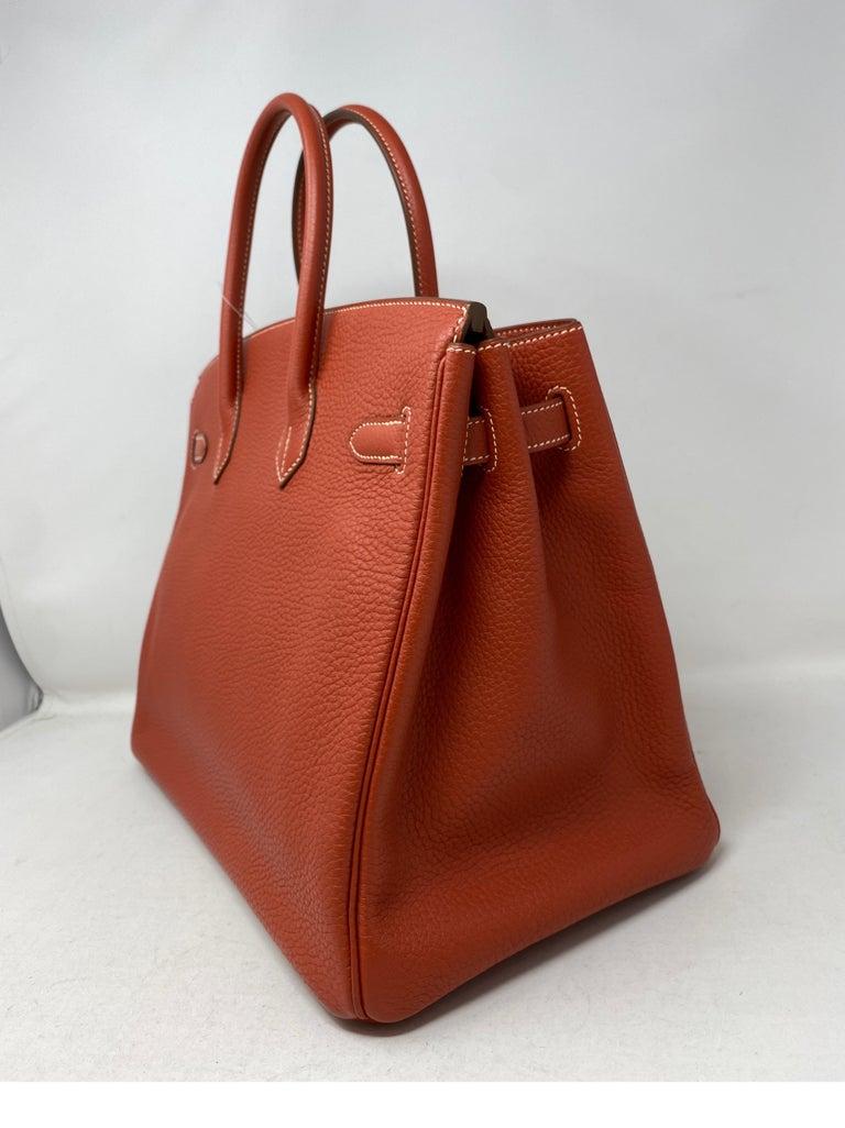 Hermes Birkin 35 Sanguine Bag For Sale 1