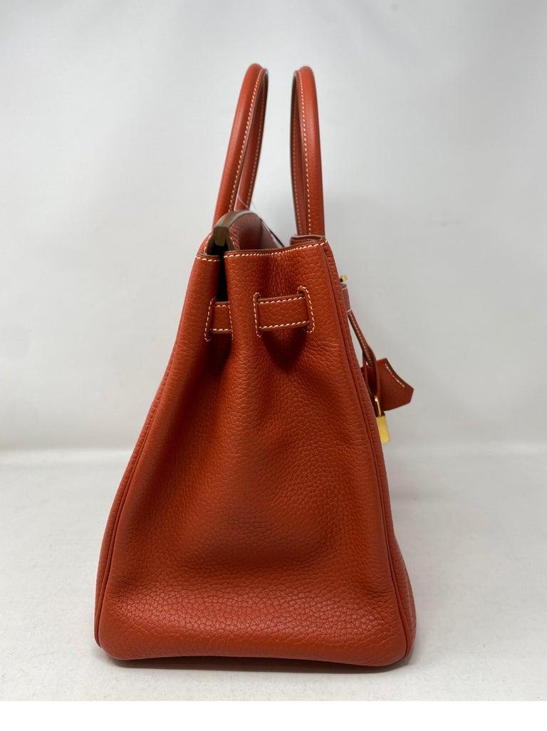 Hermes Birkin 35 Sanguine Bag For Sale 2
