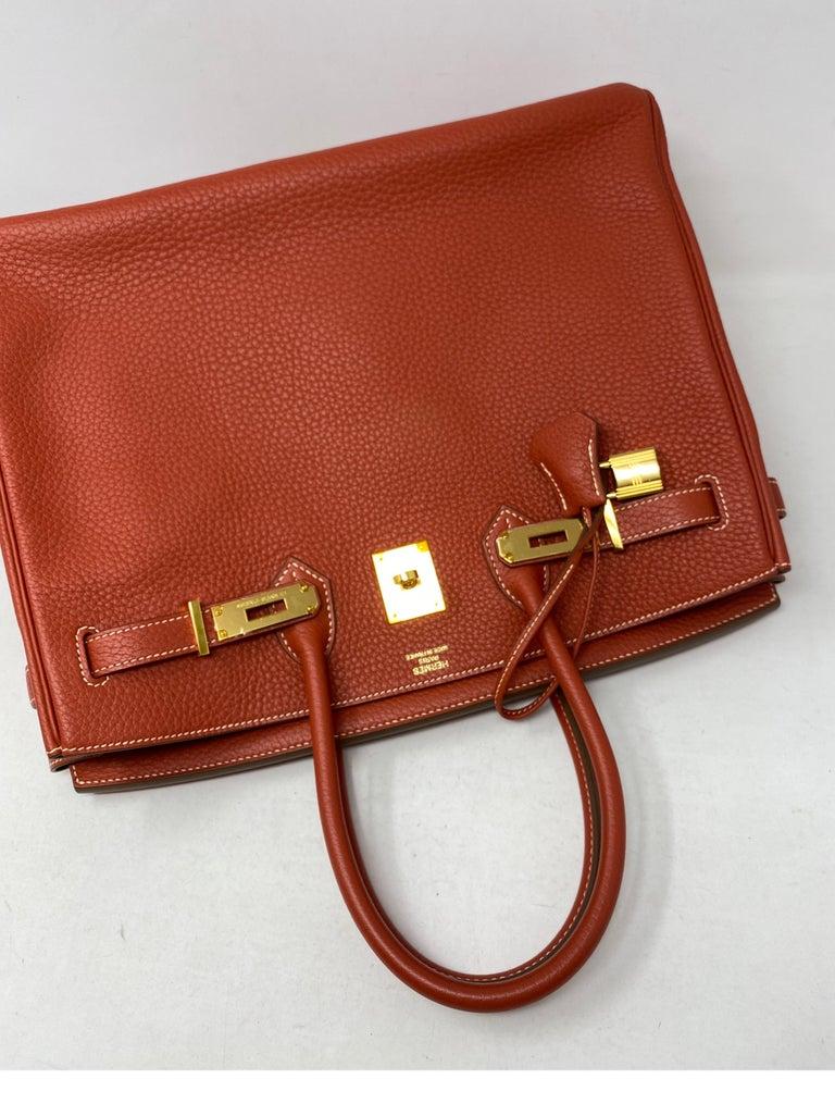 Hermes Birkin 35 Sanguine Bag For Sale 3