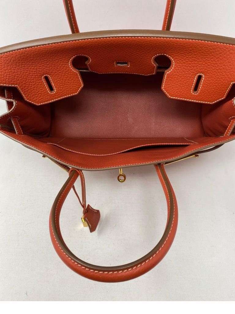 Hermes Birkin 35 Sanguine Bag For Sale 4