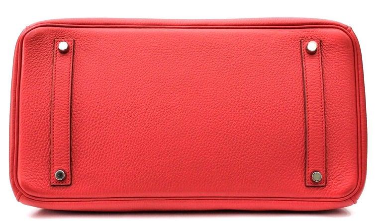 Hermes Birkin 35 Togo Rose Jaipur For Sale 5