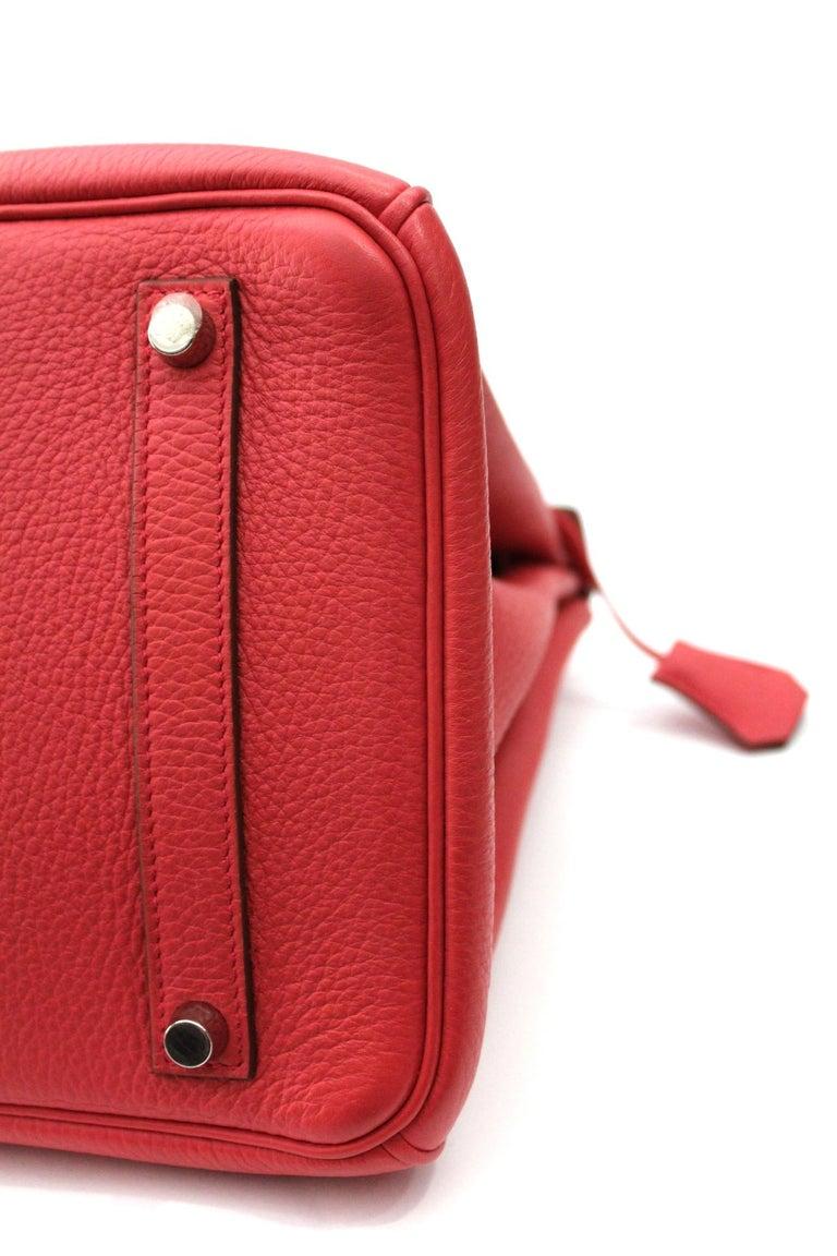 Hermes Birkin 35 Togo Rose Jaipur For Sale 6