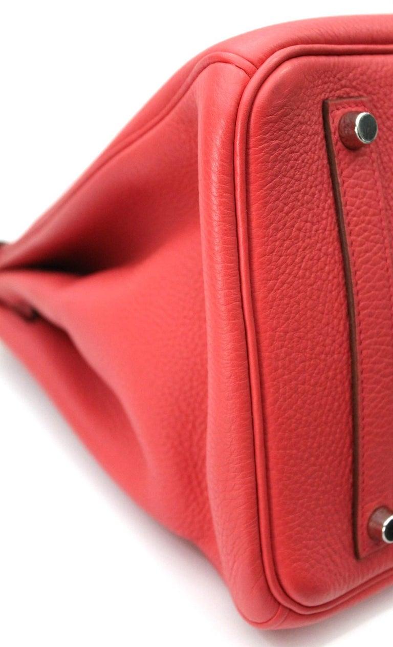 Hermes Birkin 35 Togo Rose Jaipur For Sale 7
