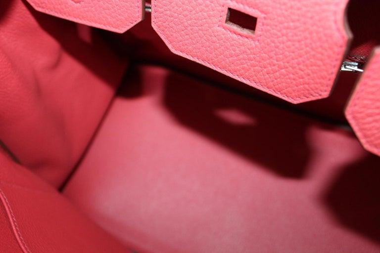 Hermes Birkin 35 Togo Rose Jaipur For Sale 1