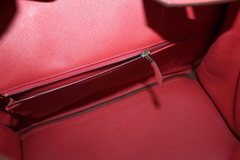 Hermes Birkin 35 Togo Rose Jaipur For Sale 3